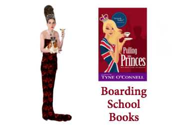 Pulling Princes the boarding schoo books by Tyne OConnell