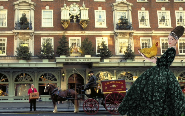 Purveyors of quality - the one and only Fortnum & Mason