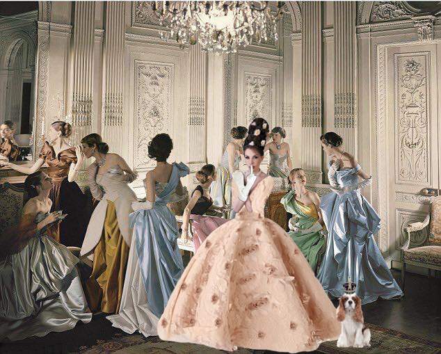 because Ballgowns are both Empowering & Larky... I wear a Ballgown to w...