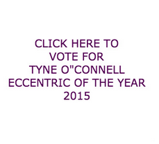 Tyne O'Connell Eccentric of the year